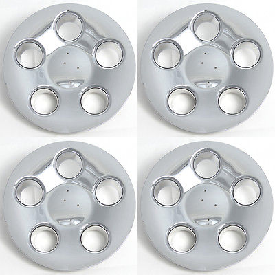 "Car Accessories 4 Pc Set LS430 16"" 01 Center Caps Steel Wheels Alloy Rims Pop In Hub Cover"