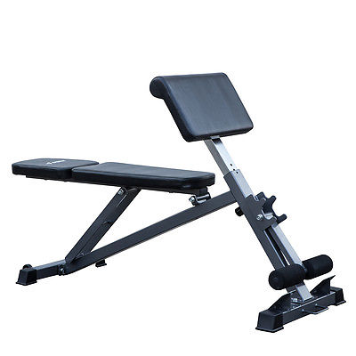 All-in-One Adjustable Bench Ab, Hyperextension / Preacher Curl Fitness Equipment