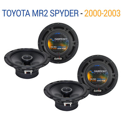 For Car Toyota MR2 Spyder 2000-2003 Factory Speaker Upgrade Harmony (2) R65 Package