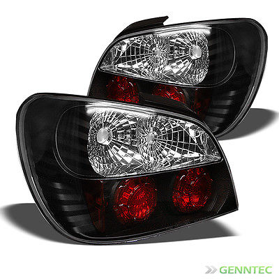 For 2002-2003 Subaru Impreza 4 Door WRX Tail Lights Rear Brake Lamp Pair New