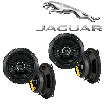 For Car Fits Jaguar XJ 1998-2005 Speaker Replacement Kicker DS Series (2) DSC5 Package