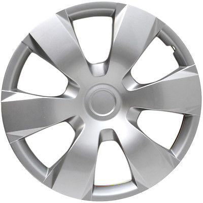 "Car Accessories 16"" Silver Hubcap Fits 2007 '08 '09 Aftermarket Wheel Cover Fits Toyota Camry"
