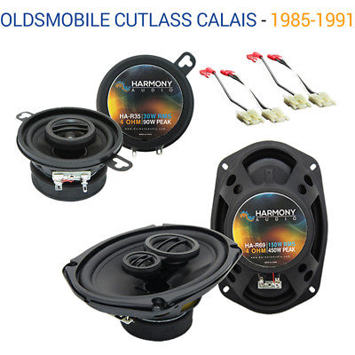 For Car Oldsmobile Cutlass Calais 1985-1991 OEM Speaker Upgrade Harmony Speakers