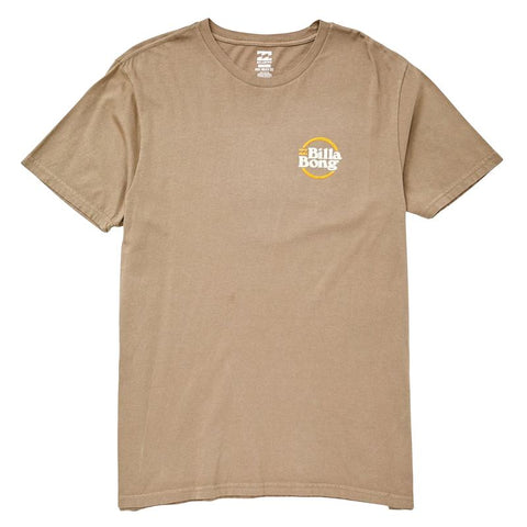 Billabong Mens Cruise Tee Shirt Military Green