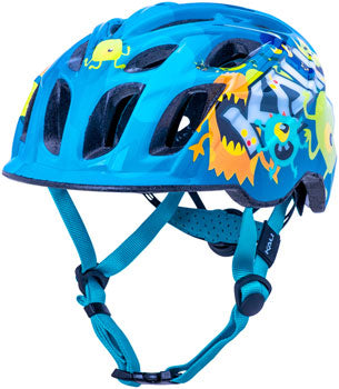 Kali Protectives Chakra Child Helmet - Monsters Blue, Children's, Small