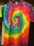 High Bridge Tie Dye T-Shirt ( Sandy River Logo )