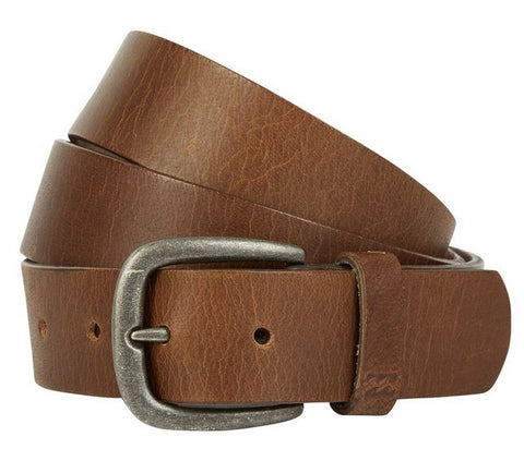 Billabong All Day Brown Leather Belt