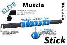 "The Muscle Stick - Elite ""Rubber"" Soft Massage Roller - 6 Colors Available"