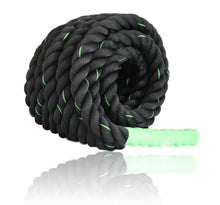 Fitness Answered Training Products Battle Rope Green 40x1.5