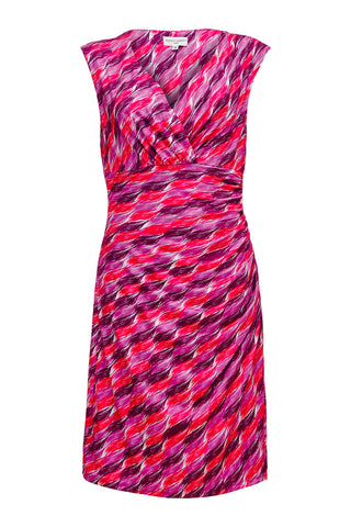 Brush Stroke Slinky Dress