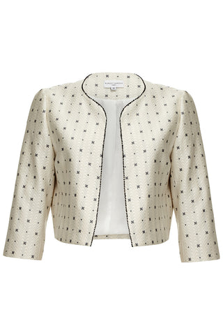 Beaded Cropped Jacket