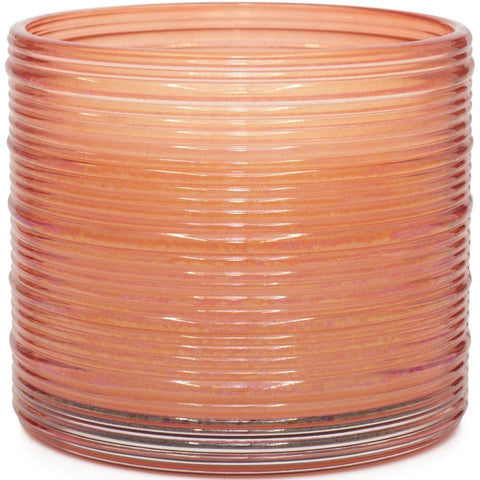 Spun Glass Copper Cranberry Apple Martini Scented Candle - Candlemart.com