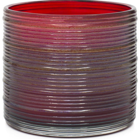 Spun Glass Red Spicy Cinnamon Stick Scented Candle - Candlemart.com