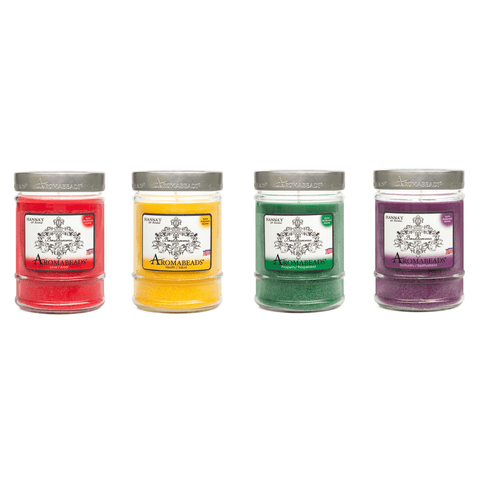 Aromabeads Set of Scented Canister Candles