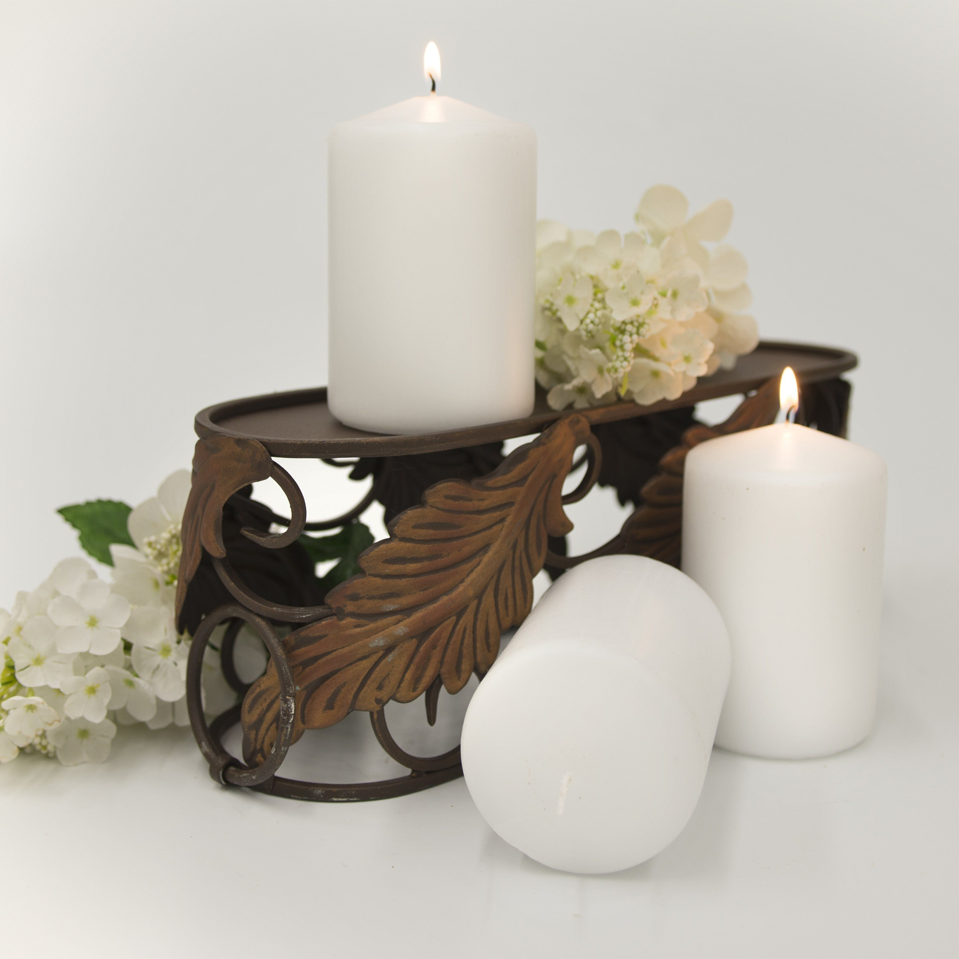3x5 Unscented Pearl Pillar Candle Candles Candlemart.com $ 3.29