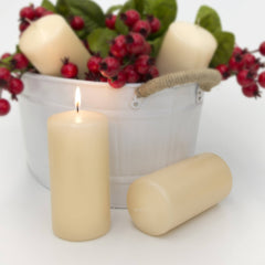 3x6 Unscented Ivory Pillar Candle Candles Candlemart.com $ 3.99