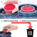 Aromabeads Singles Red Electric Melt Warmer