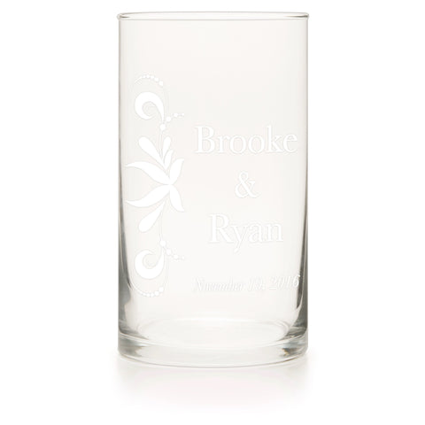 Clear Glass Cylinder - Candlemart.com