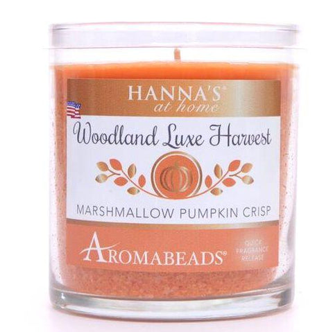 Aromabeads Marshmallow Pumpkin Crisp Scented Tumbler Candle - Candlemart.com