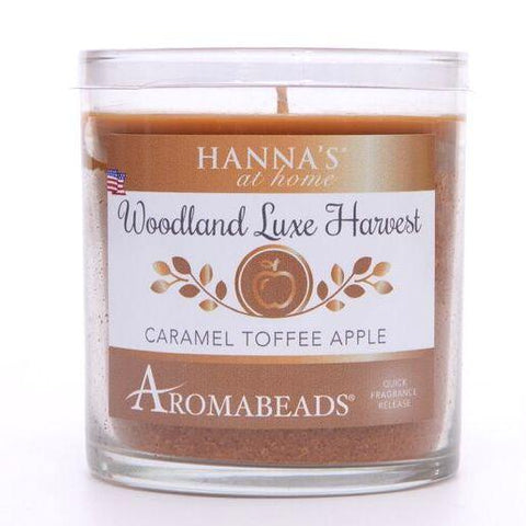 Aromabeads Caramel Toffee Apple Scented Tumbler Candle - Candlemart.com