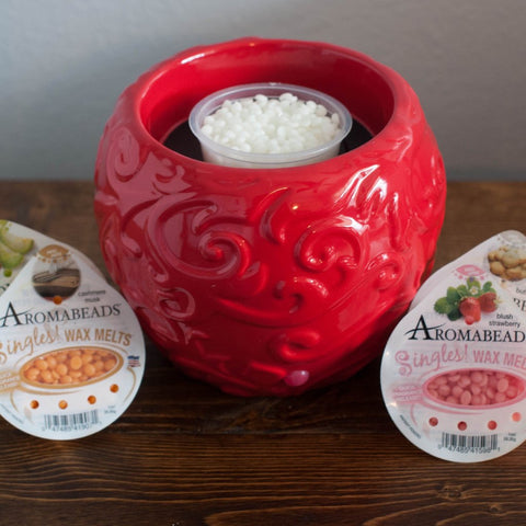 Aromabeads Singles Warmer and Melts Gift Set Melts Candlemart.com $ 34.00