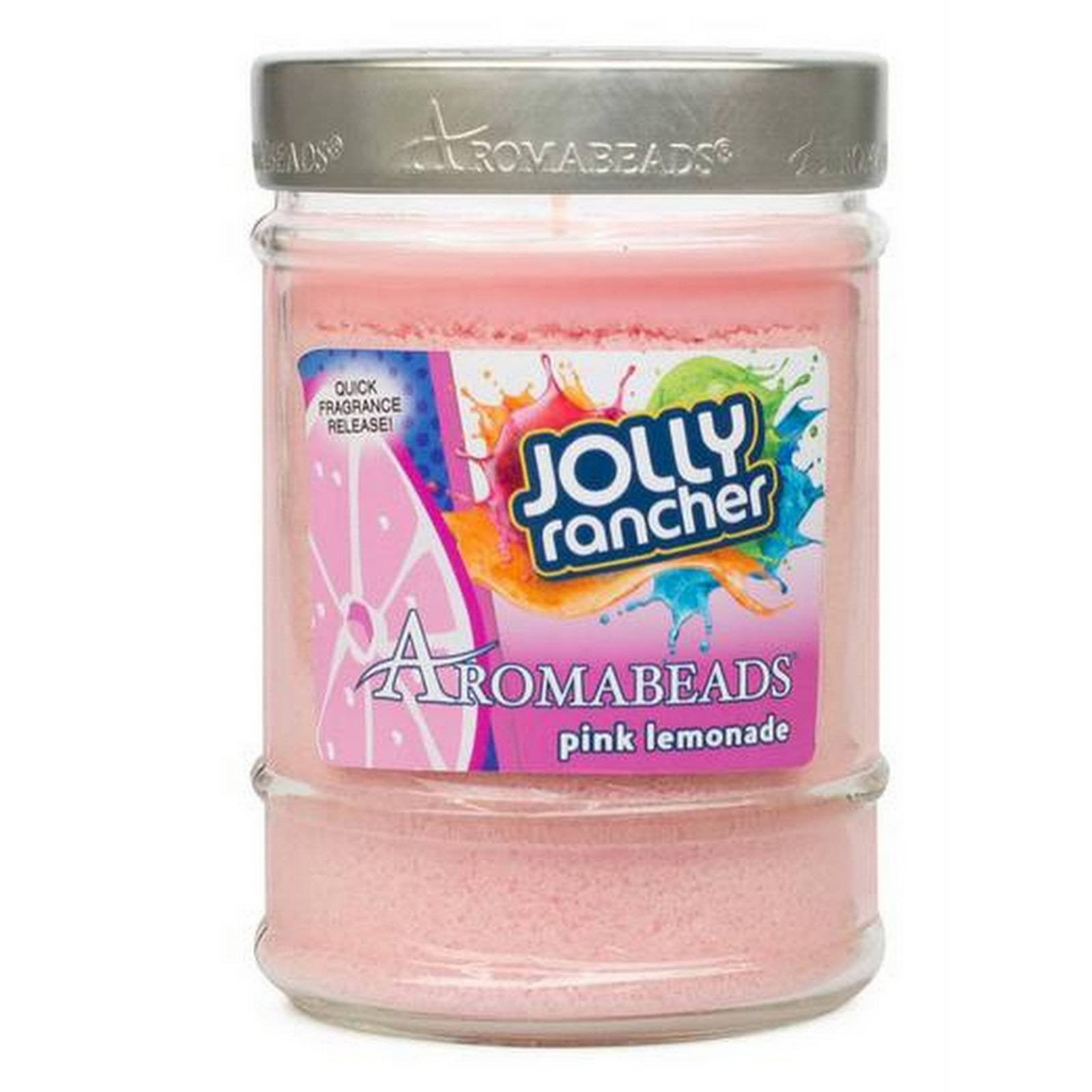 Jolly Rancher Pink Lemonade Scented Aromabeads Canister Candle - Candlemart.com