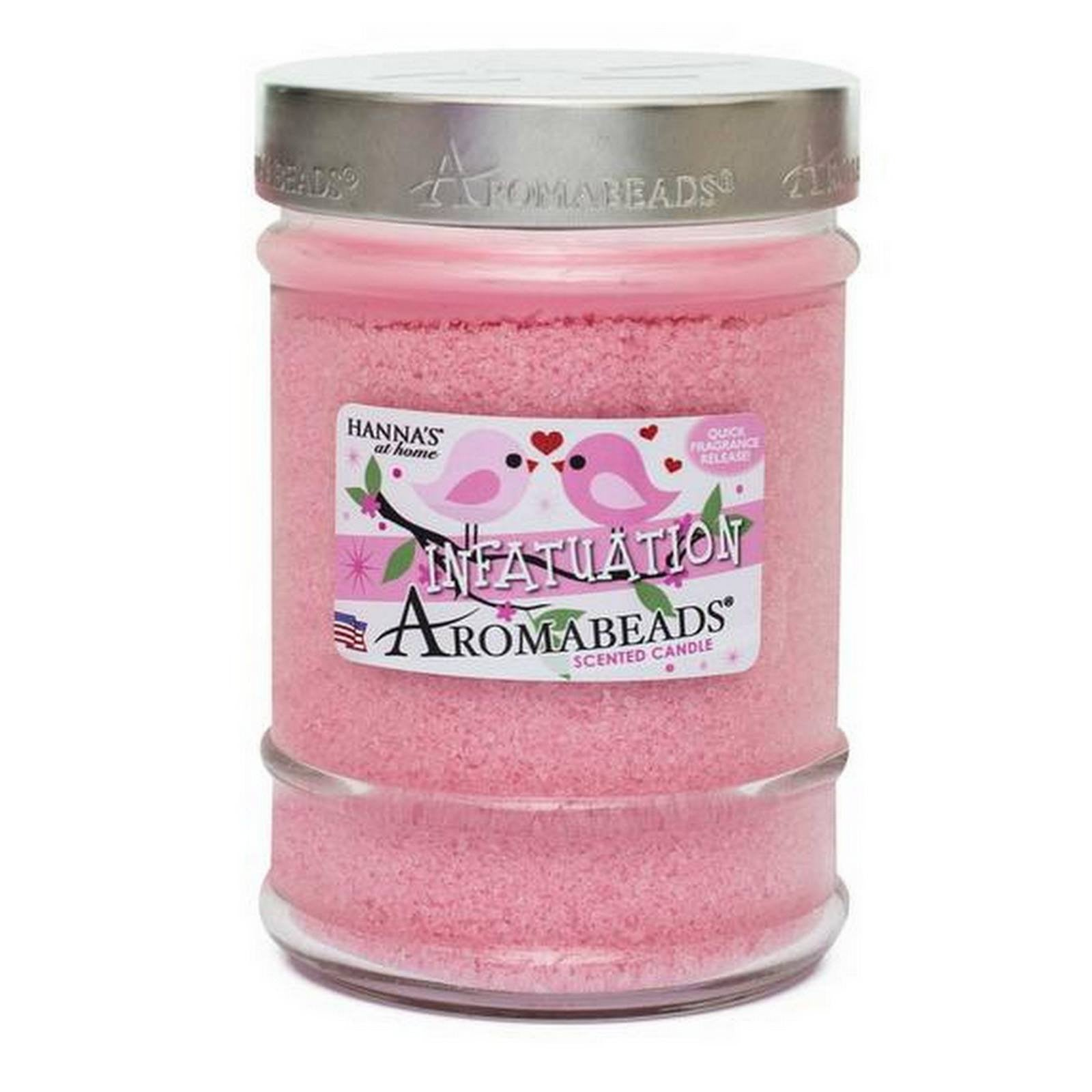 Valentine's Aromabeads Infatuation Scented Canister Candle - Candlemart.com