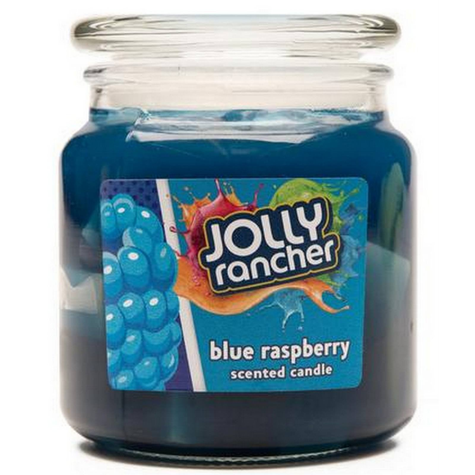 Jolly Rancher Blue Raspberry Scented Jel Candle Jel Candles Candlemart.com $ 9.99