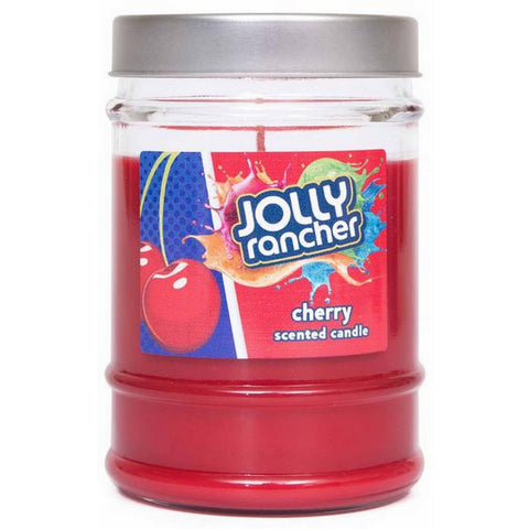 Jolly Rancher Cherry Scented Canister Jar Candle Candles Candlemart.com $ 5.99
