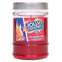 Jolly Rancher Cinnamon Fire Scented Canister Jar Candle - Candlemart.com