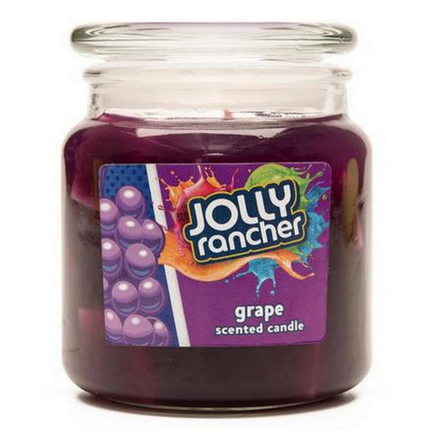 Jolly Rancher Grape Scented Jel Candle Jel Candles Candlemart.com $ 9.99