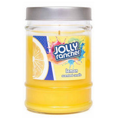 Jolly Rancher Lemon Scented Canister Jar Candle - Candlemart.com