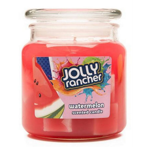 Jolly Rancher Watermelon Scented Jel Candle Jel Candles Candlemart.com $ 9.99