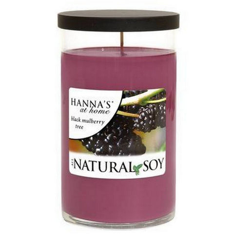 Natural Soy Black Mulberry Tree Scented Soy Candle 100% Soy Candles Candlemart.com $ 5.00