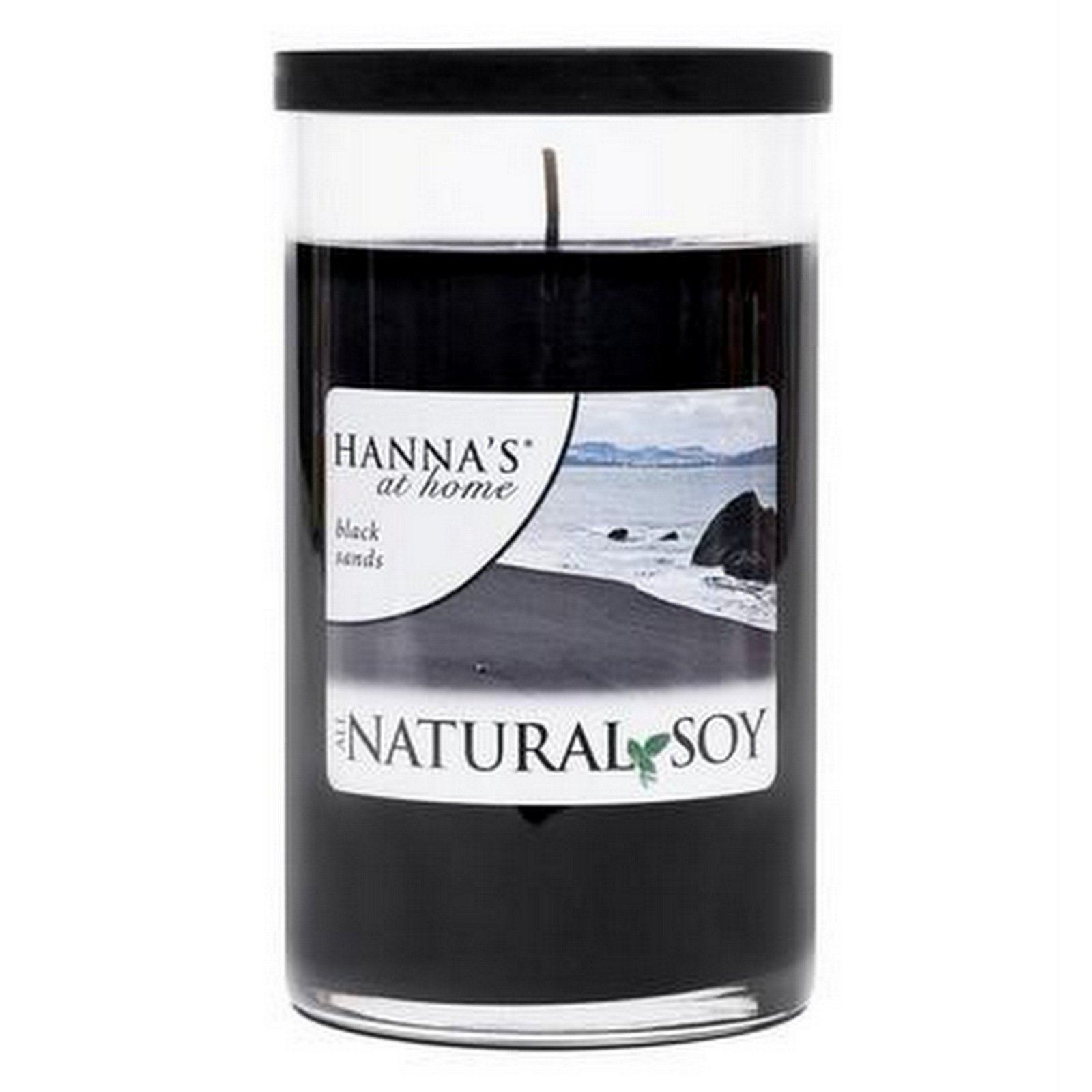 Natural Soy Black Sands Scented Soy Candle - Candlemart.com