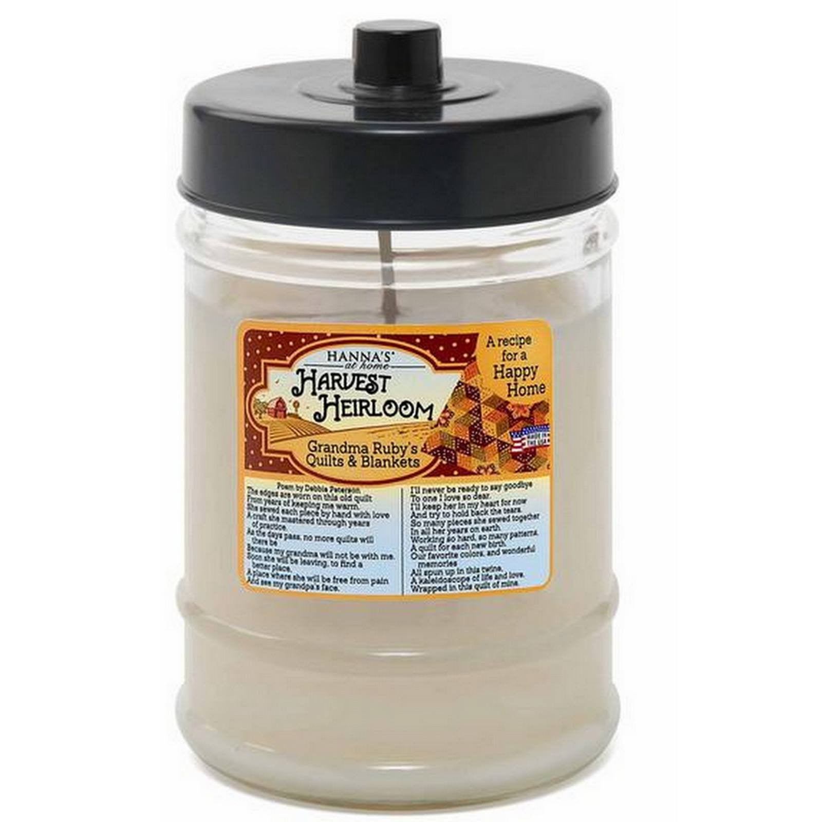 Harvest Heirloom French Country Vanilla Scented Canister Jar Candle - Candlemart.com