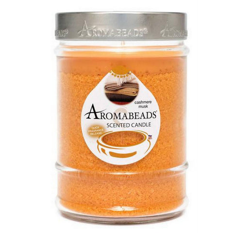 Aromabeads Cashmere Musk Scented Canister Candle - Candlemart.com