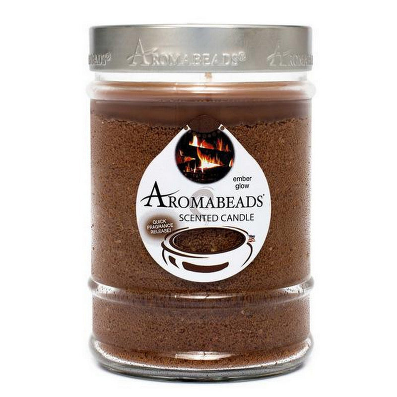 Aromabeads Ember Glow Scented Canister Candle - Candlemart.com