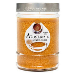 Aromabeads Hazelnut Latte Scented Canister Candle - Candlemart.com