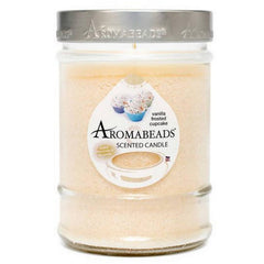 Aromabeads Vanilla Frosted Cupcake Scented Canister Candle - Candlemart.com