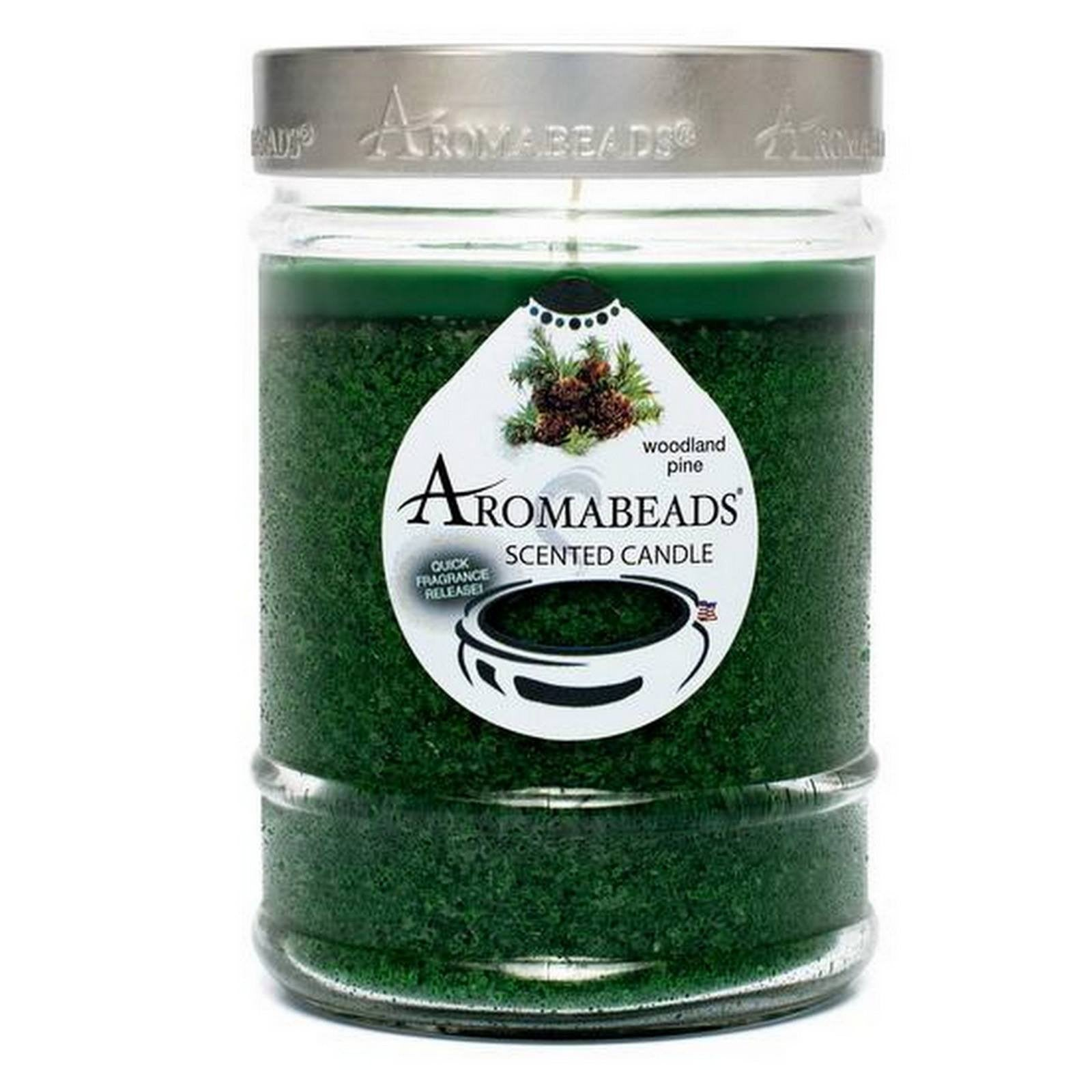 Aromabeads Woodland Pine Scented Canister Candle - Candlemart.com