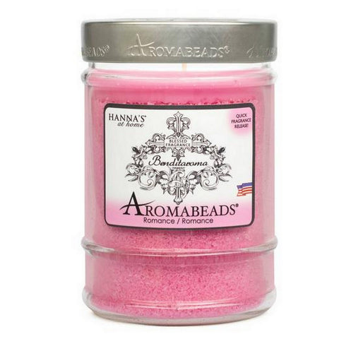 Benditaroma Aromabeads Romance Scented Canister Candle - Candlemart.com