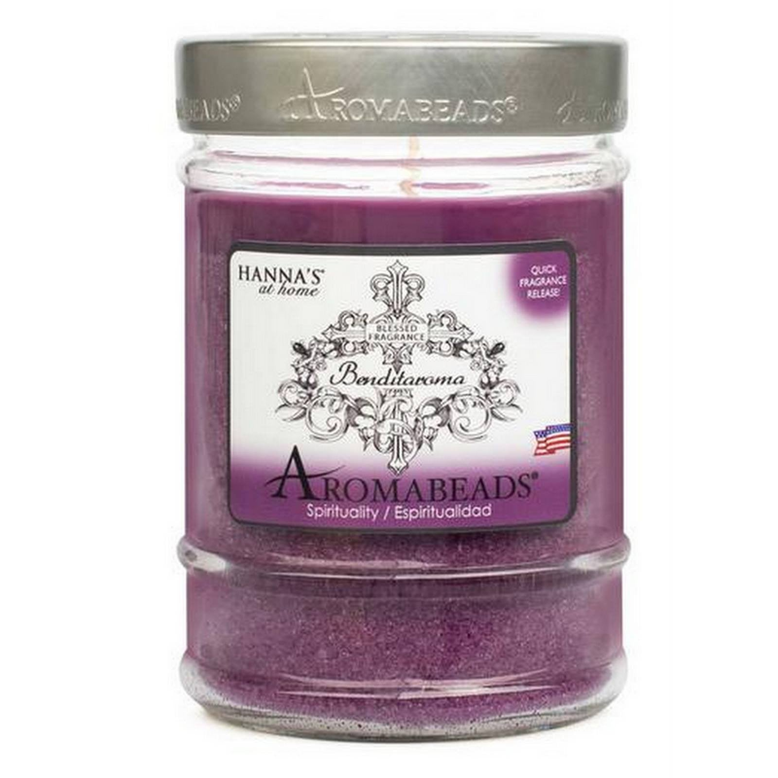Benditaroma Aromabeads Spirituality Scented Canister Candle - Candlemart.com