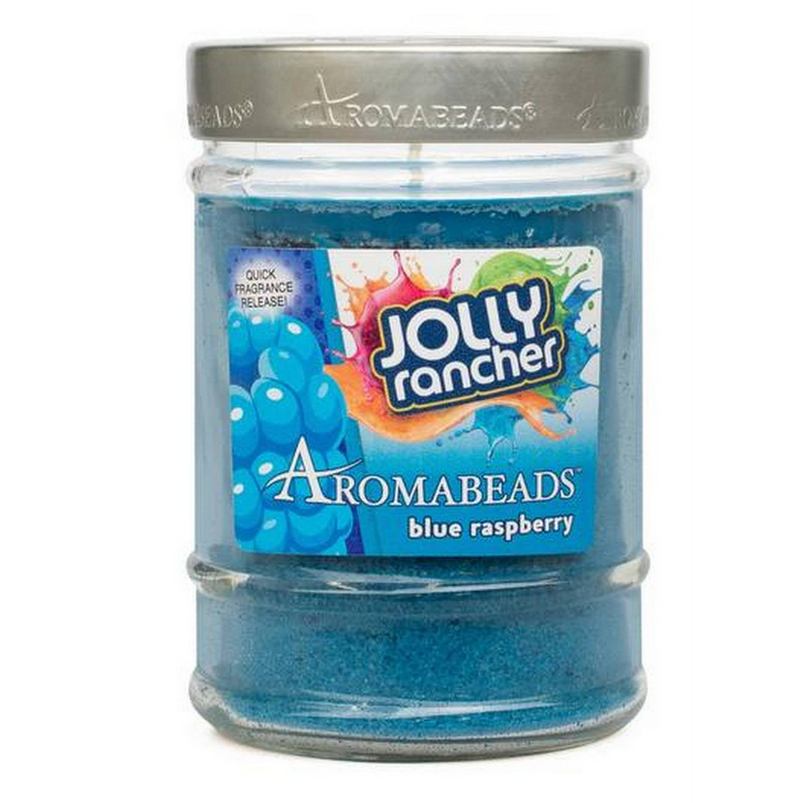 Jolly Rancher Blue Raspberry Scented Aromabeads Canister Candle - Candlemart.com