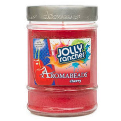 Jolly Rancher Cherry Scented Aromabeads Canister Candle - Candlemart.com