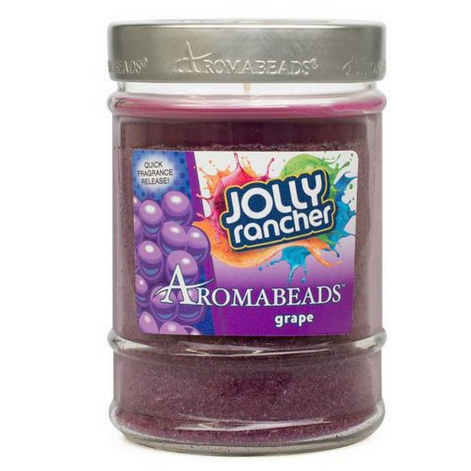 Aromabeads Jolly Rancher Grape Scented Candle Aromabeads Candlemart.com $ 9.99