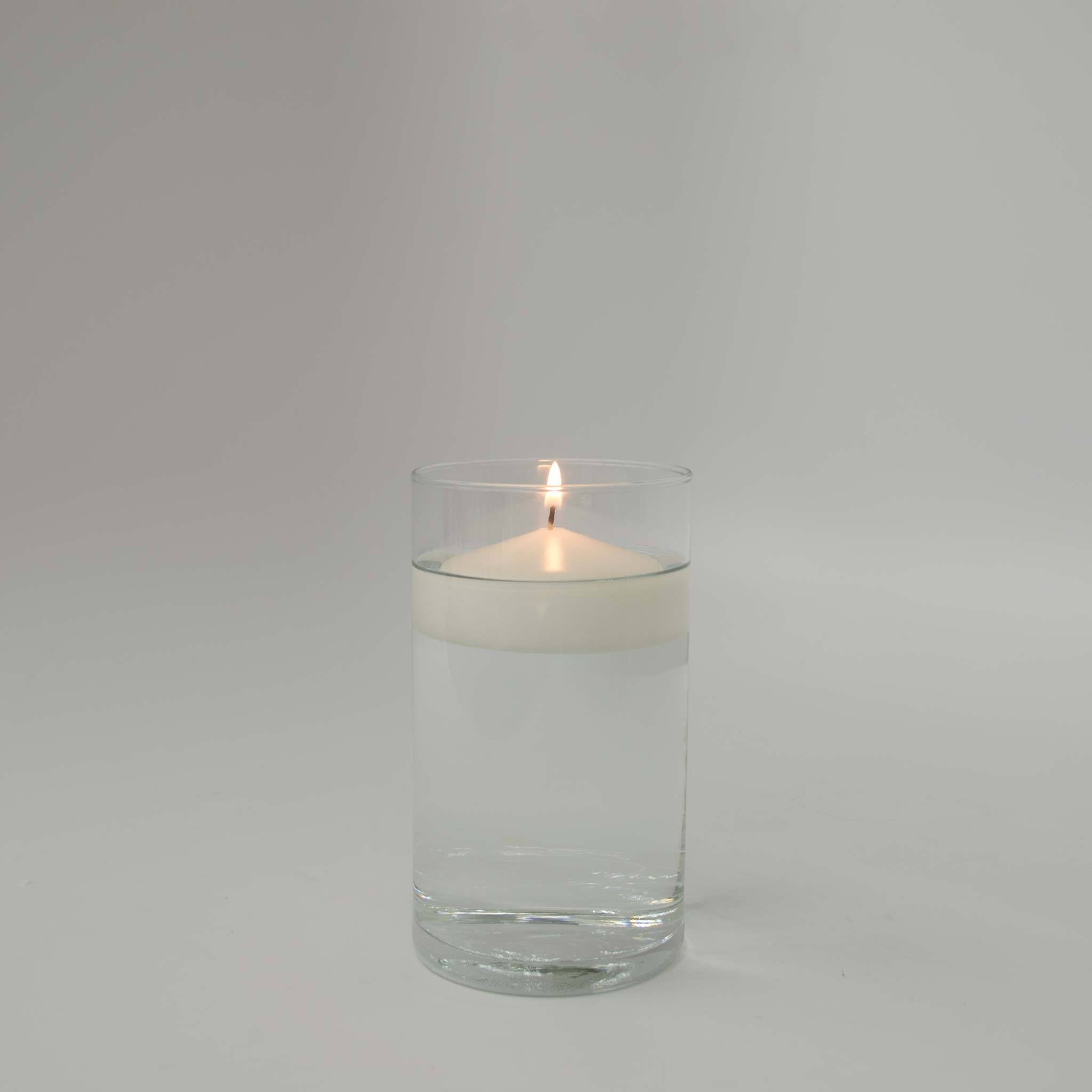 "Ivory Floating Candle 3"" (Case of 12) Candles Candlemart.com $ 9.99"