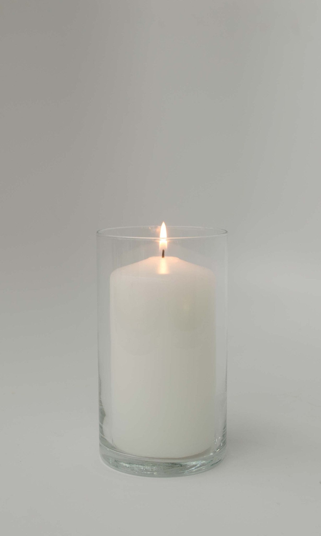 3x6 Unscented White Pillar Candle - Candlemart.com - 3