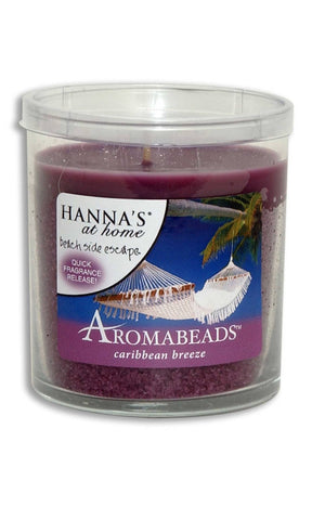 Aromabeads Caribbean Breeze Scented Tumbler Candle - Candlemart.com