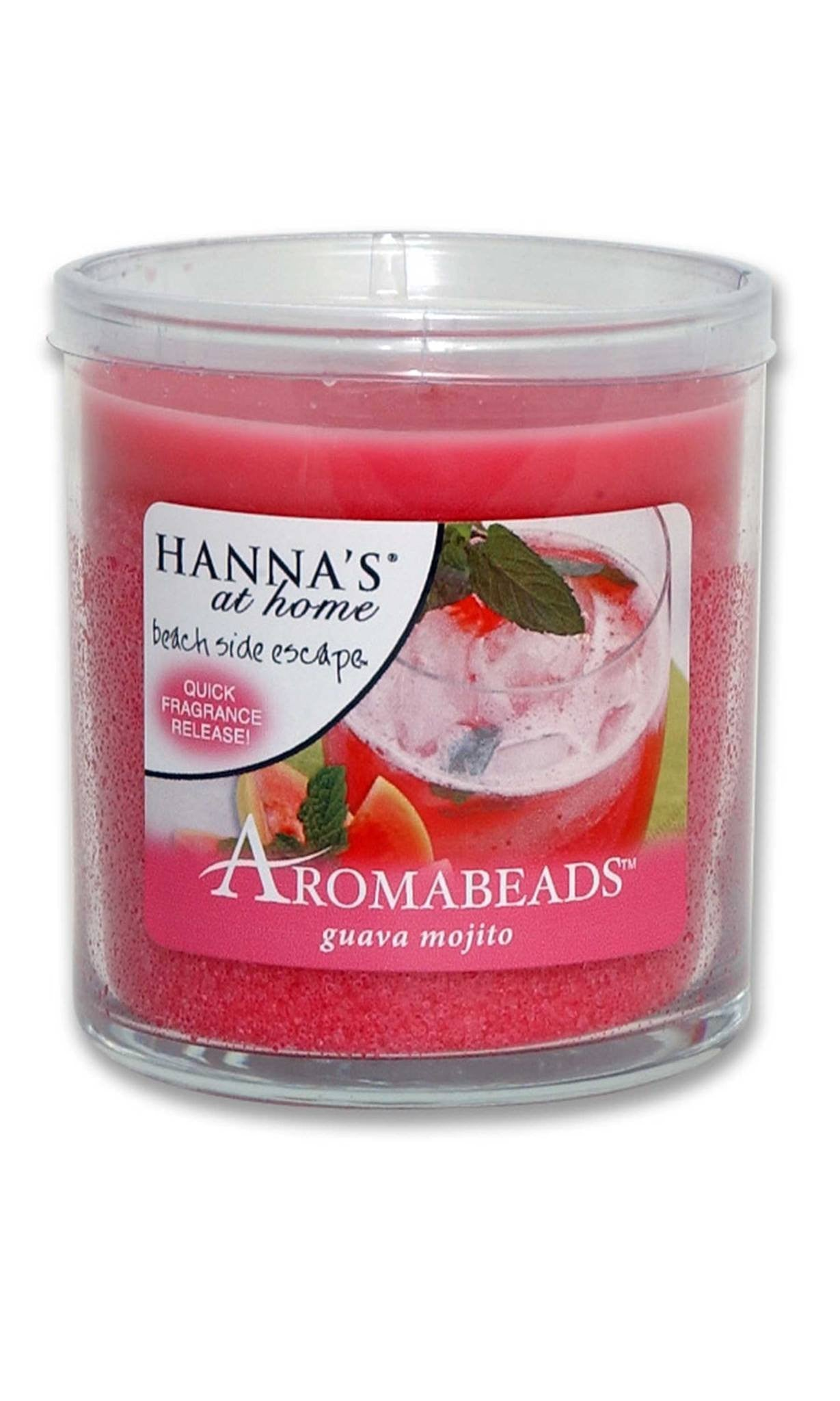 Aromabeads Guava Mojito Scented Candle - Candlemart.com